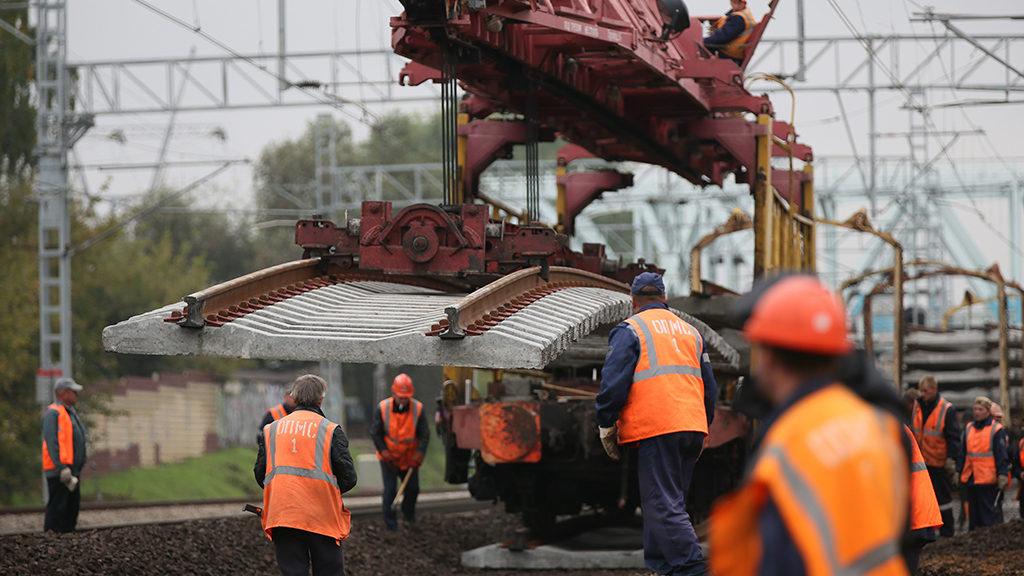 Строительство железной дороги в обход Украины идет ускоренными темпами